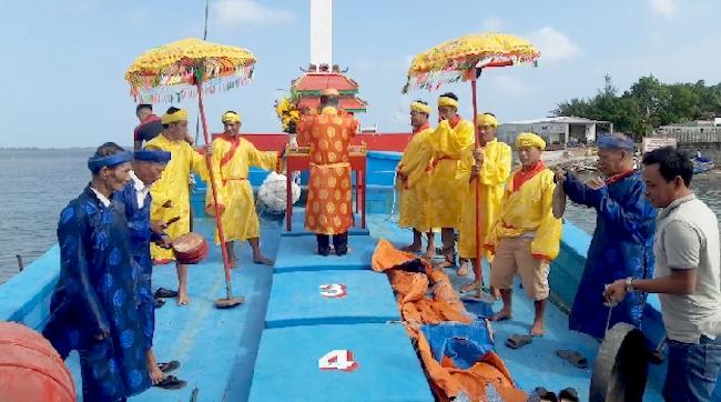 Fête de la prière pour la bonne pêche à Quang Nam