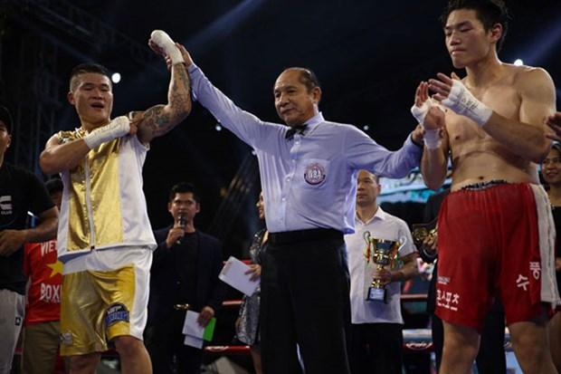 Le boxeur Truong Dinh Hoang remporte la ceinture de la WBA d