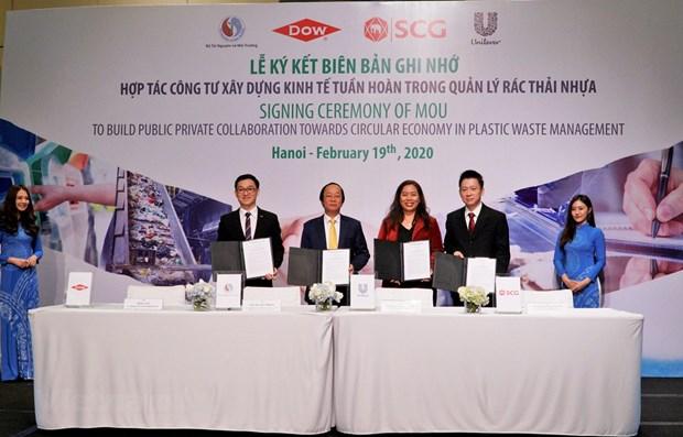 Le Vietnam établit une collaboration public-privé pour lutter contre les déchets plastiques