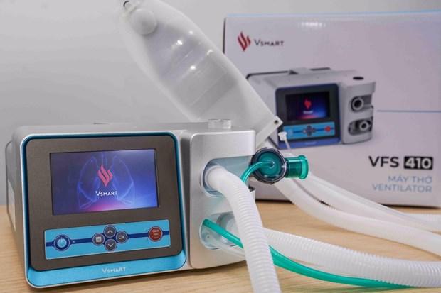 Coronavirus : Vingroup parachève deux modèles de ventilation invasive