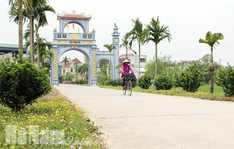 Le district de Binh Luc (Ha Nam) répond aux normes de la Nouvelle ruralité