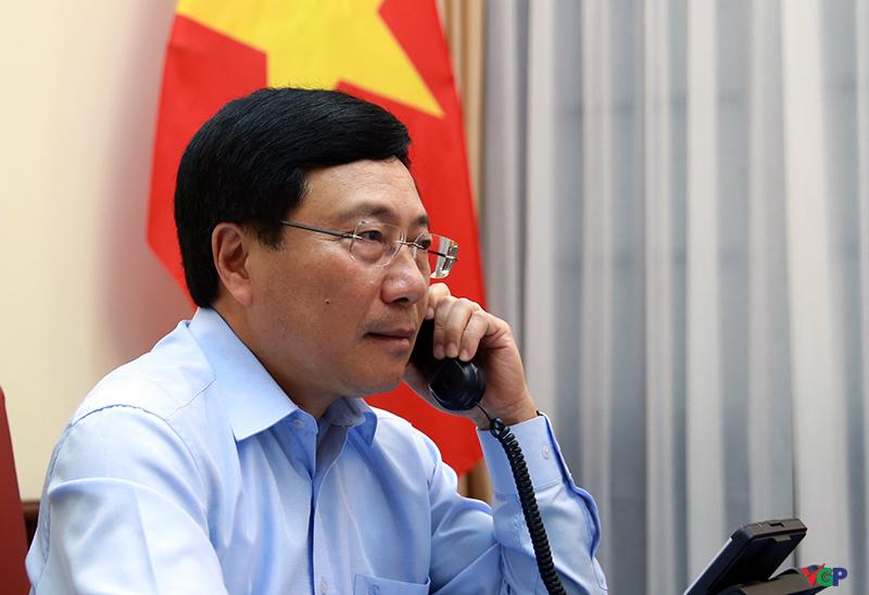Vietnam-Italie : conversation téléphonique entre Pham Binh Minh et Luigi Di Maio