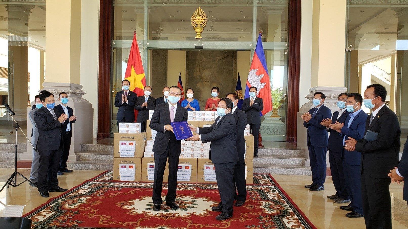 Le Cambodge remercie l