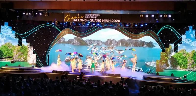 Le programme artistique «Bonjour l'été Ha Long - Quang Ninh 2020»