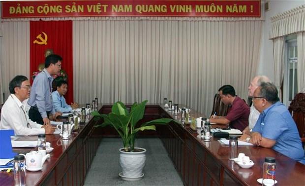 Hau Giang et une agence allemande s