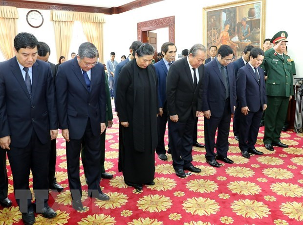 Vietnam-Laos: Des délégations vietnamiennes rendent hommage à Sisavath Keobounphanh