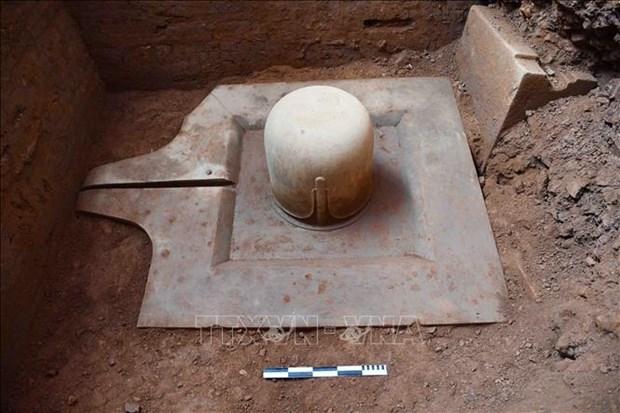 Un Shiv Linga du 9e siècle exhumé dans le sanctuaire de My Son