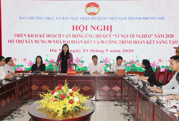 Hanoï : 90 maisons du cœur en faveur des familles pauvres en 2020
