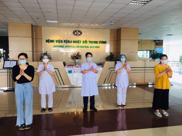 *COVID-19: Guérison de 263 cas d'infection au Vietnam
