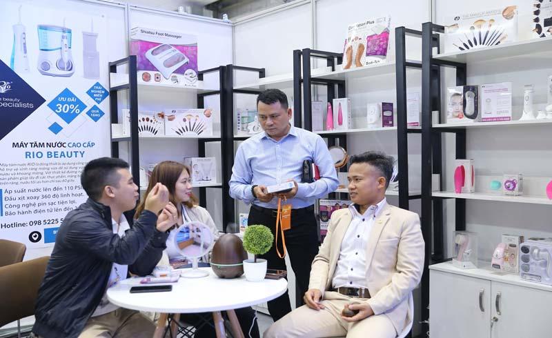Plus de 250 stands à l'exposition internationale Beautycare à Ho Chi Minh-Ville