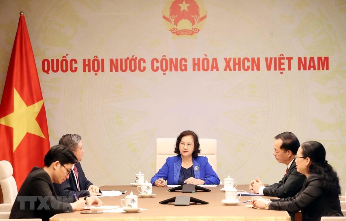 Laos-Vietnam: conversation téléphonique entre les deux présidentes de l