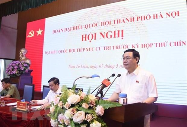 Les électeurs de Hanoi apprécient les résultats du combat contre le COVID-19