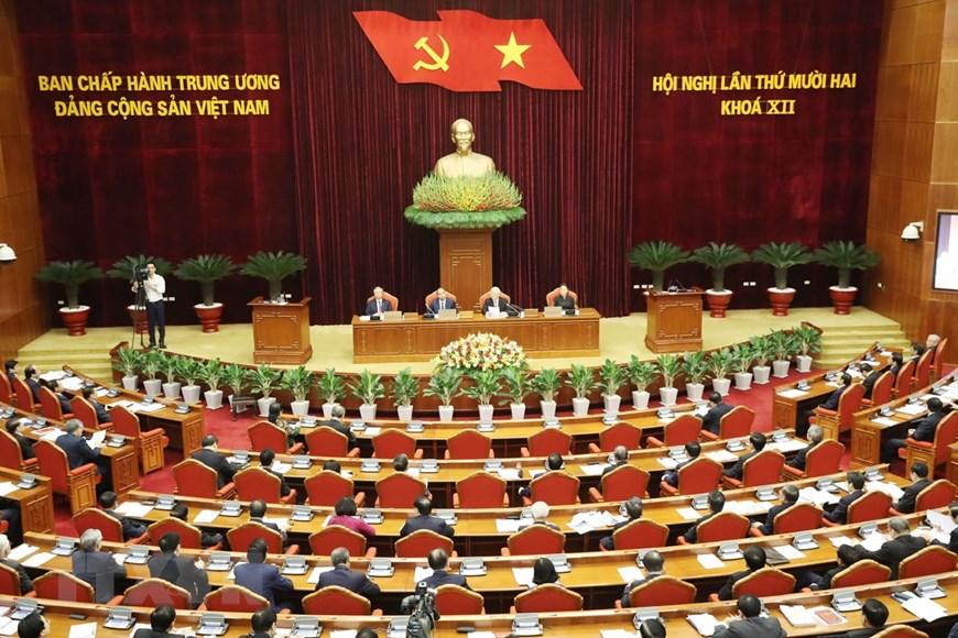 Le 12e Plénum du Comité central du Parti s'ouvre à Hanoï