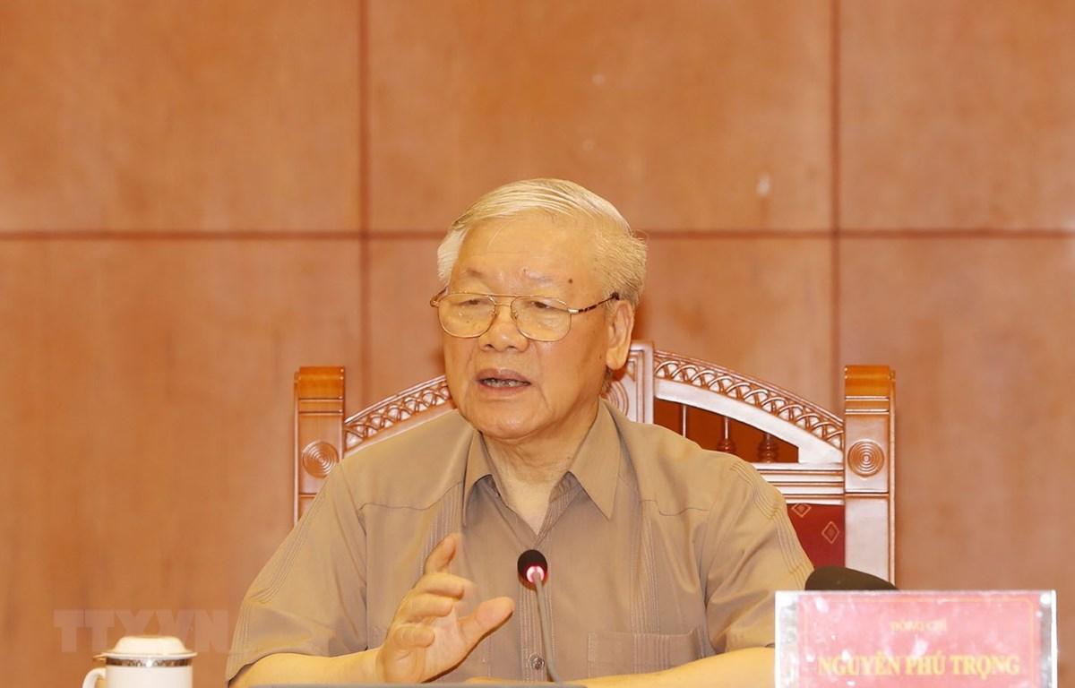 Le SG du Parti et le président Nguyen Phu Trong demande d'accélérer la lutte contre la corruption