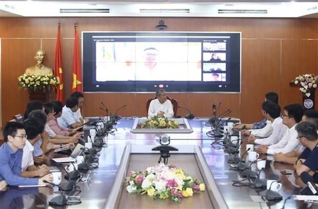 Lancement de la première plate-forme de visioconférence du Vietnam