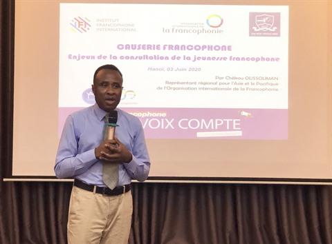 Rencontres avec les étudiants francophones