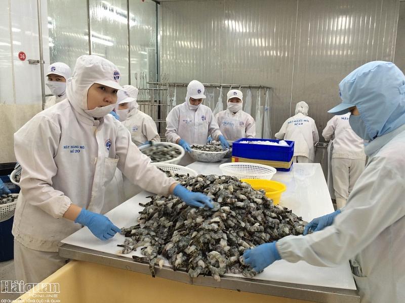 Forte hausse des exportations vietnamiennes de crevettes aux Etats-Unis