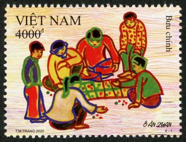 Publication de timbres sur des jeux folkloriques vietnamiens
