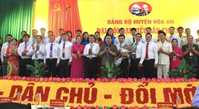 Efforts pour développer le district de Hoa An dans divers domaines