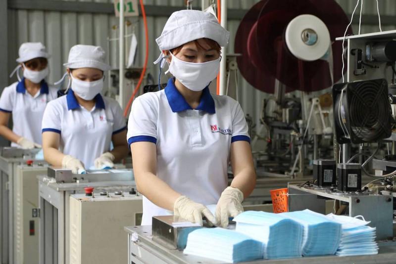 Une entreprise vietnamienne exporte un million de masques faciaux aux États-Unis