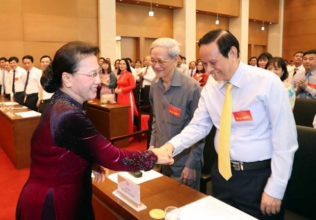 La présidente de l'AN rencontre des journalistes exemplaires