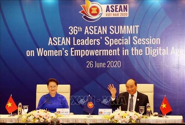 Les dirigeants de l'ASEAN débattent de l'autonomisation des femmes à l'ère numérique