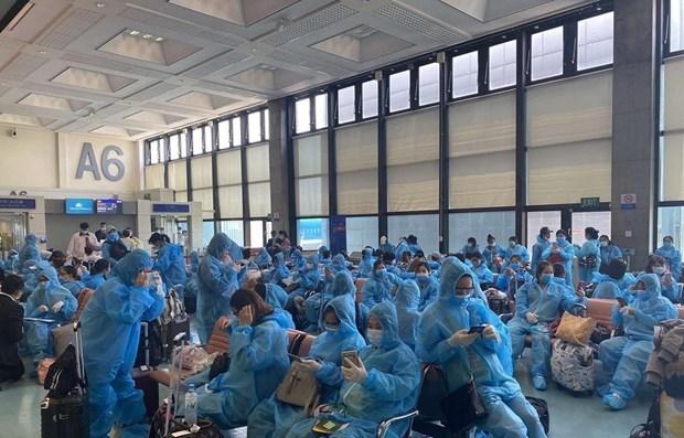 Rapatriement de 69 citoyens vietnamiens de certains pays africains