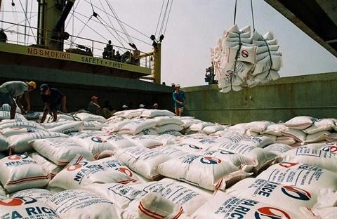 Exportations nationales de riz en hausse tant en volume qu