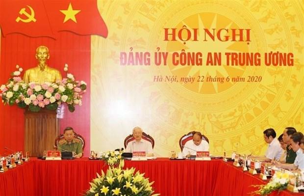 Bien préparer le Congrès du Comité central du Parti au sein du ministère de la Sécurité publique