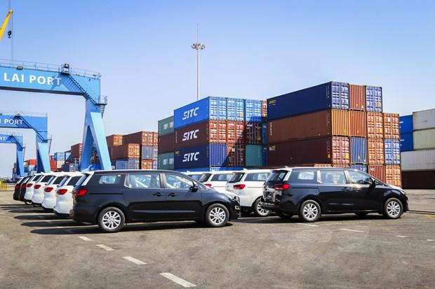 Thaco exporte son 2e lot de voitures touristiques en Thaïlande
