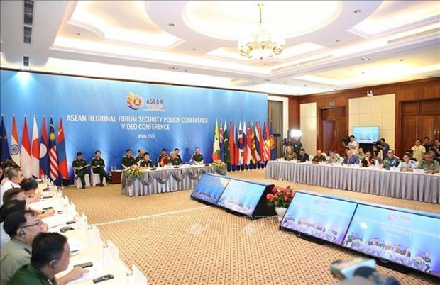 La visioconférence sur les politiques de sécurité de l'ARF