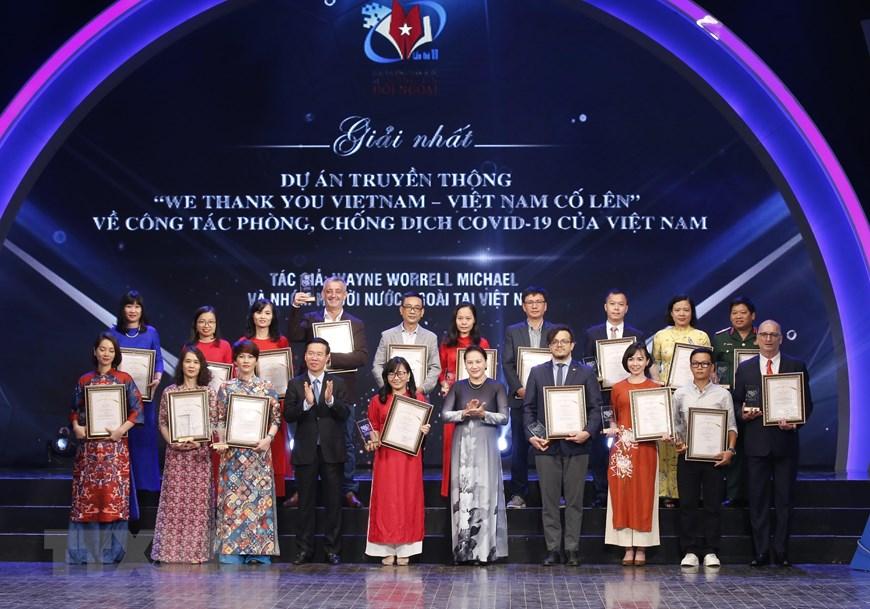 Cérémonie de remise du Prix national de l'information pour l