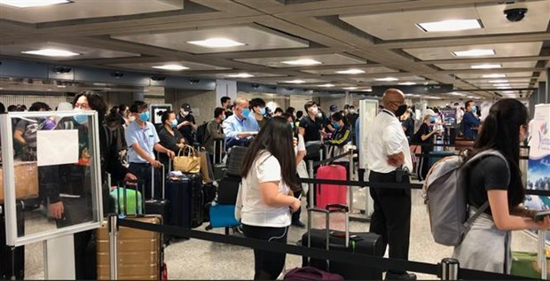 Les 346 Vietnamiens bloqués aux Etats-Unis sont rapatriés à Hanoi