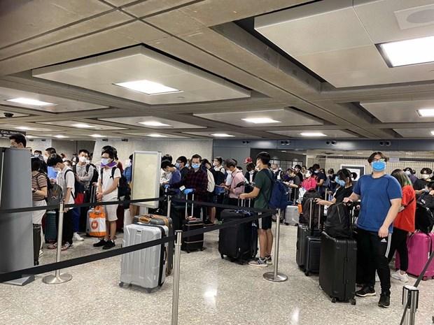 Des citoyens vietnamiens rapatriés des États-Unis
