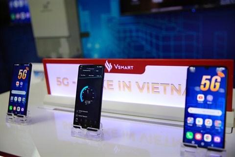Vinsmart développe avec succès sa téléphonie 5G