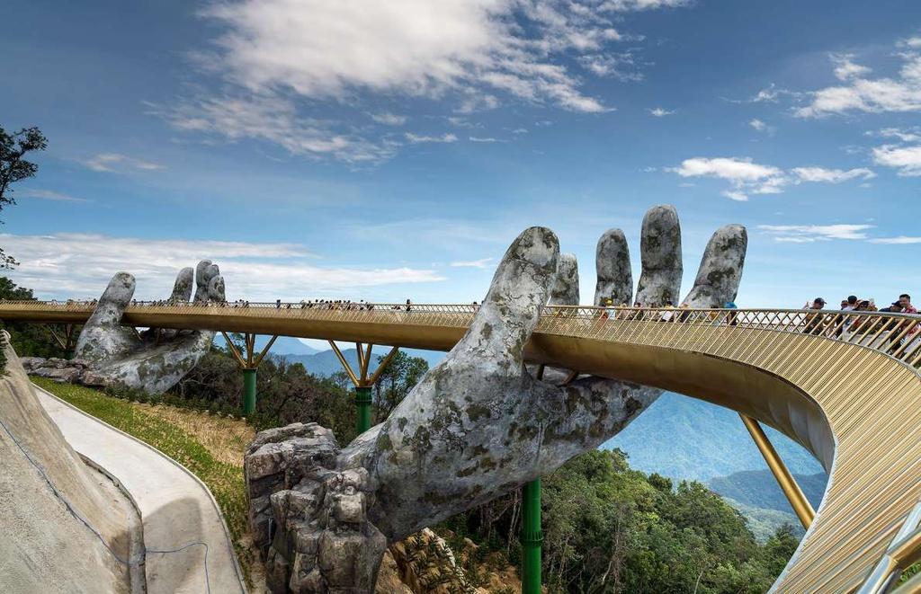 Le pont d'Or reconnu comme une «merveille du monde»