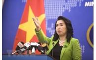 Les exercices militaires de la Chine à Hoang Sa violent la souveraineté du Vietnam
