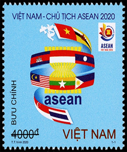 Emission du timbre «Vietnam: Bienvenue à l