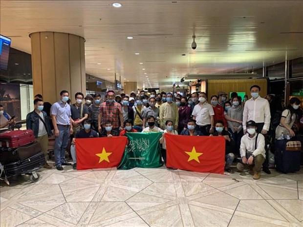 Rapatriement de 270 citoyens vietnamiens de République de Chypre et d