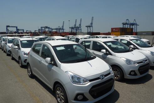 Hausse des importations vietnamiennes d'automobiles en juillet
