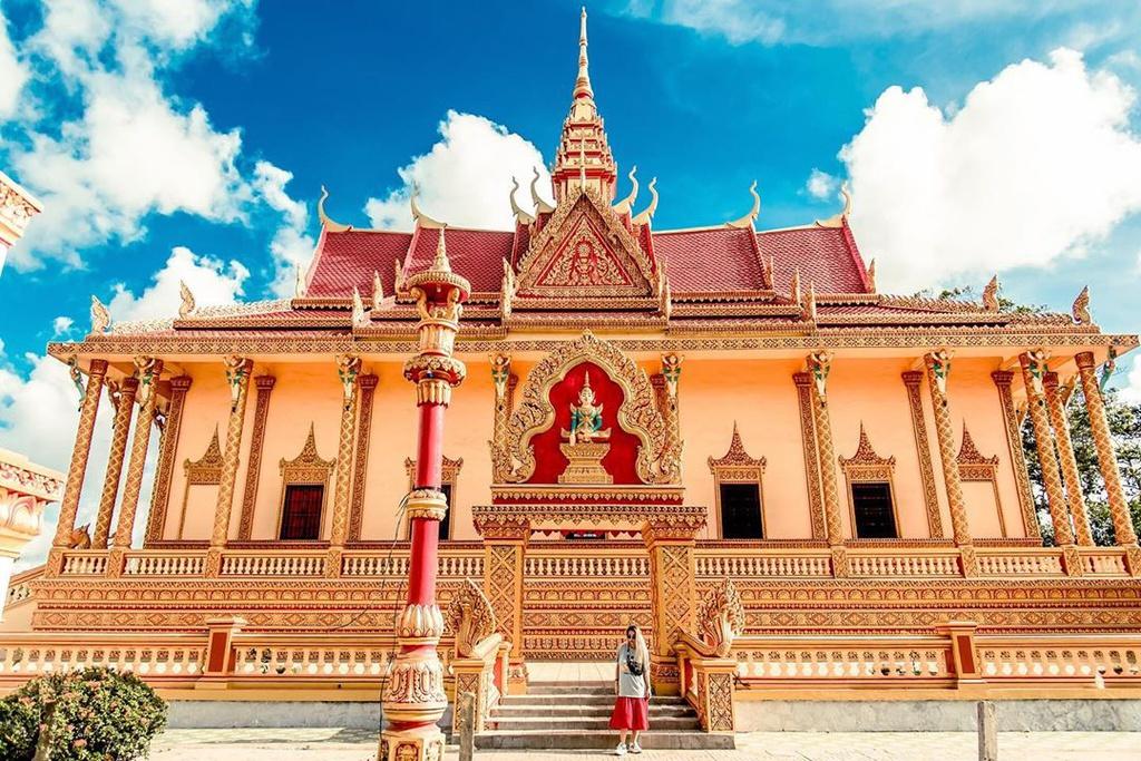 Visiter les 5 célèbres pagodes khmères du Sud-Ouest