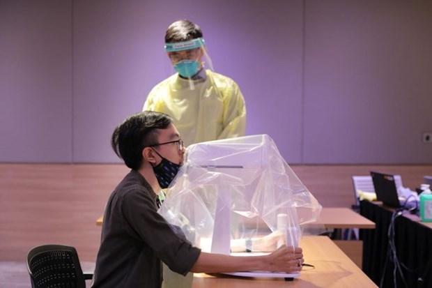 Singapour développe avec succès un robot d'échantillonnage du COVID-19