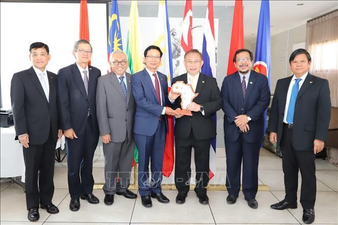 Les ambassadeurs des pays de l'ASEAN en Afrique du Sud saluent la présidence vietnamienne