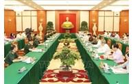Le Politburo travaille avec des organisations du Parti sur les préparatifs des congrès du Parti