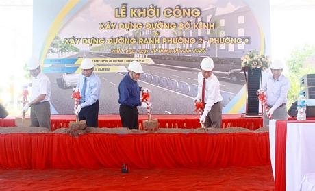 Vinh Long: inauguration de nombreux travaux à l