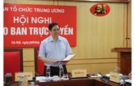 Congrès du Parti: Accorder la priorité aux travaux de préparation du personnel