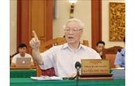 Le leader Nguyên Phu Trong demande de bien préparer le 11e Congrès du Parti de l'armée