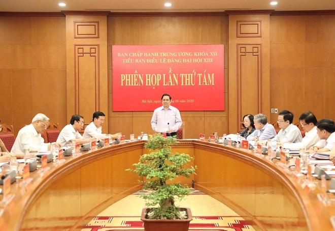 Vers le 13e Congrès du Parti: 8e réunion du sous-comité des statuts du Parti