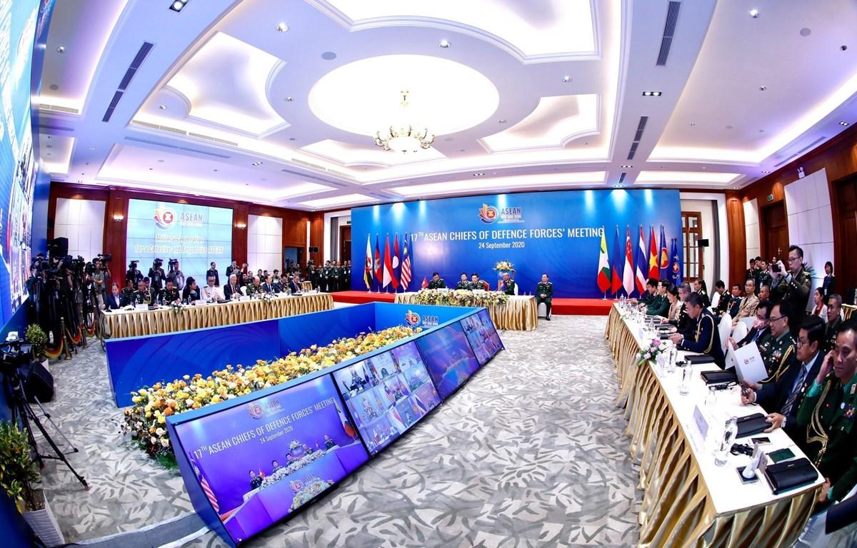 La 17e conférence par visioconférence des chefs des forces de défense de l