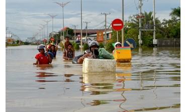 UE: aide de 400.000 d'euros aux victimes des inondations au Cambodge